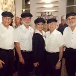 Perry Switzen, Arnold Saslavsky, Jane Galler, Martin Cohn, Stu Warshauer