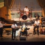 Naples Klezmer Band On Stage at Sugden Theater